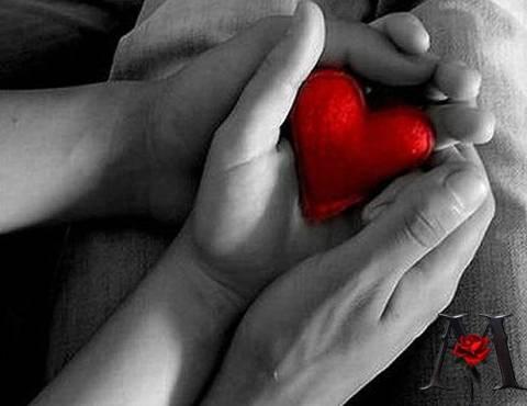 Держать в руках свое сердце во сне